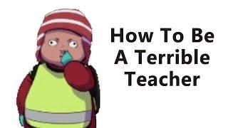 Worst Teacher EVER!  Knåddskogen Gameplay - Goofin Group