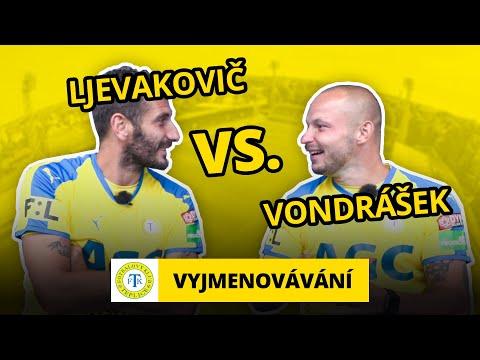 Vyjmenovávání  v Teplicích: Admir Ljevakovič a Tomáš Vondrášek