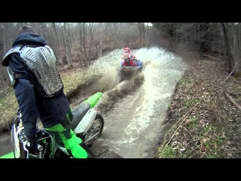 Atv Mudding and Dirt Bike