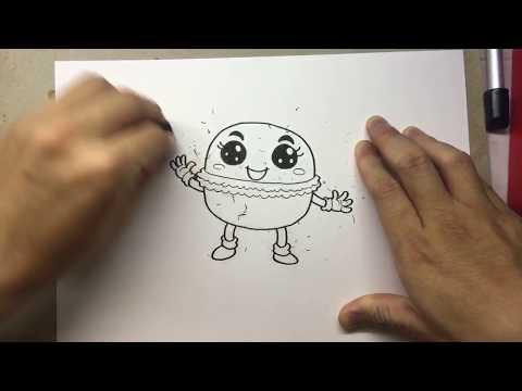 Live #50 | วาดการ์ตูน ขนม ต่างๆ | วาดการ์ตูน กันเถอะ