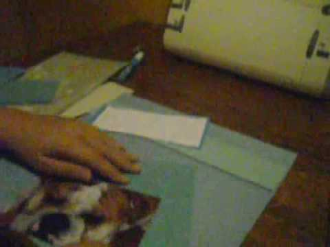 Scrapbook Layout Sunday- Dog Layout Video