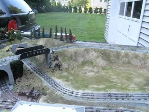 Trains Under Christmas Tree