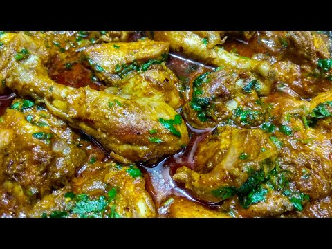 Fried Chicken Masala Curry | Indian Style Chicken Curry Beginners recipe | Masala Chicken Curry