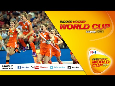 Germany v Netherlands - FINAL Highlights Women's Indoor Hockey World Cup 2015 Germany