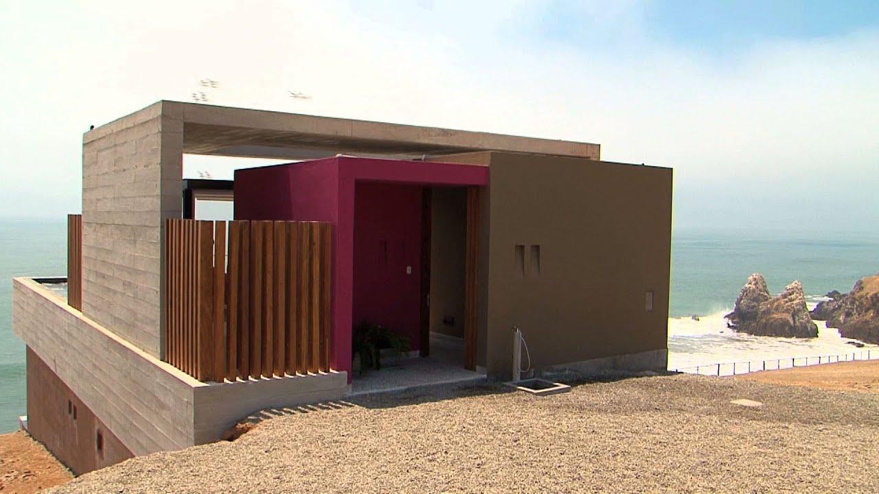 L nea y punto casa de playa la escondida youtube - Casa de playa ...