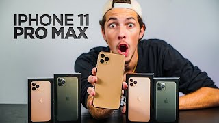 COMPRAMOS O NOVO IPHONE 11 PRO MAX! ( unboxing )