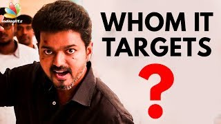 Sarkar Vijay's Controversial Dialogues | Political Satire | ADMK, BJP, DMK