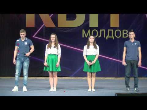 Приветствие - Лас Конгаз. Первая 1/8 финала Региональной лиги КВН Молдова