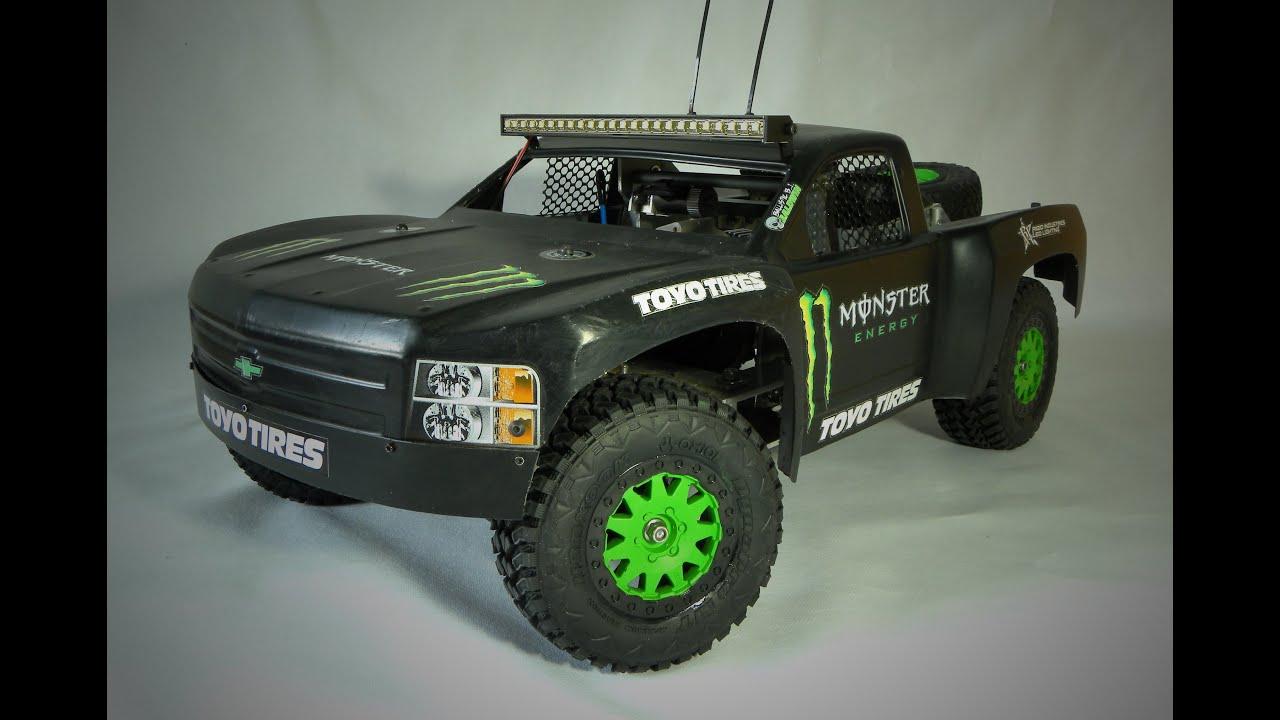 Custom RC Desert Trophy Truck. Prject Overview (EN) - YouTube