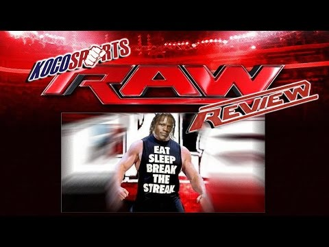 Wwe Monday Night Raw Review 07 28 14  (the Streak Is Dead   R-truth Is The 1 In 17-1) video