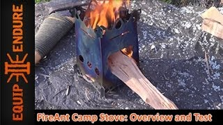 FireAnt Camp Stove: Overview and Test, by Equip 2 Endure