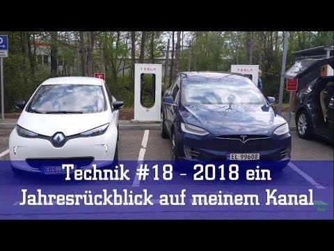 Technik #18 - 2018 ein Jahresrückblick auf meinem Kanal
