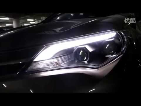 2013 2014 Toyota RAV4 Headlight With LED DRL And Bi Xenon