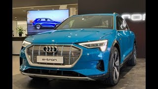 2019 Audi E-Tron: Exterior & Interior Tour! (Audi's Fully Electric SUV!)