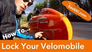 How to Lock Your Velomobile