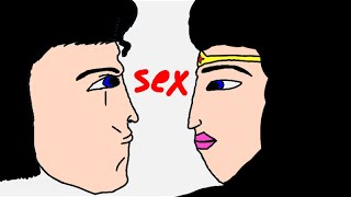 Superman and wonder woman have sex