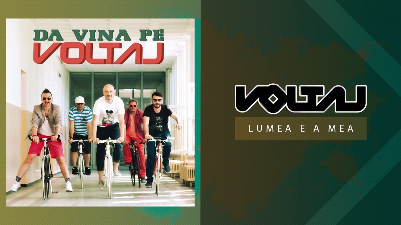 Voltaj - Lumea e a mea (Official Audio)