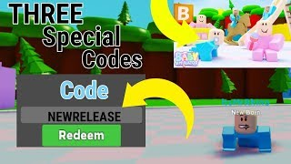 *NEW* GAME IN ROBLOX BABY SIMULATOR + THREE SPECIAL CODES | Roblox