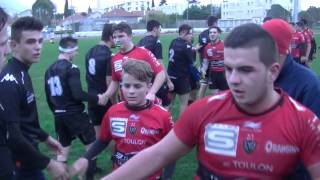 Rugby Club Toulonnais vs Le PARC Cadets Fin Match Championnat France Live TV Sports 2016