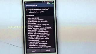 KITKAT 4.4.2 TO LOLLIPOP 5.0 OS UPDATE | SAMSUNG | GALAXY | NOTE 3 | SM-N9005