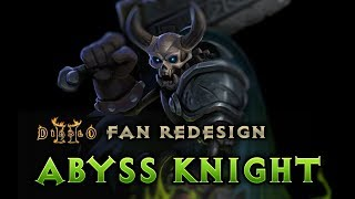 Abyss Knight, Diablo II Fan Art
