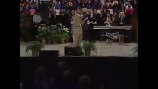 Micah Stampley Ministers Benny Hinn Crusade