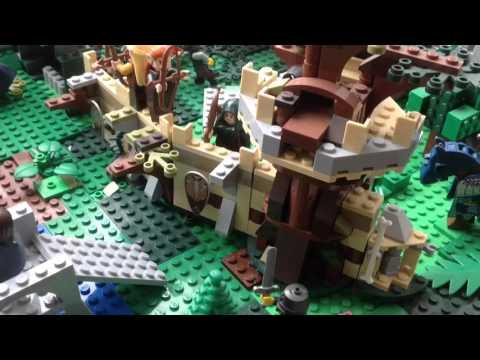 Моё Лего Королевство (Атака Орков, Эльфийская Стена) | My Lego Kingdom Review (обзор)