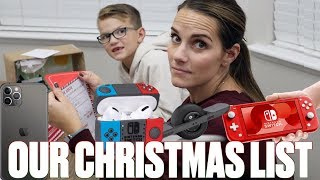 OUR CHRISTMAS WISHLISTS | WHAT I WANT FOR CHRISTMAS | MY TOP 3 CHRISTMAS GIFTS