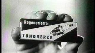 Alte Werbung Regenerierte Zündkerzen DDR 50er 60er Jahre