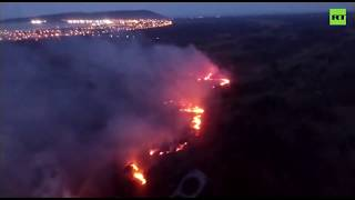 Fires spread outside the Amazon due to dry weather