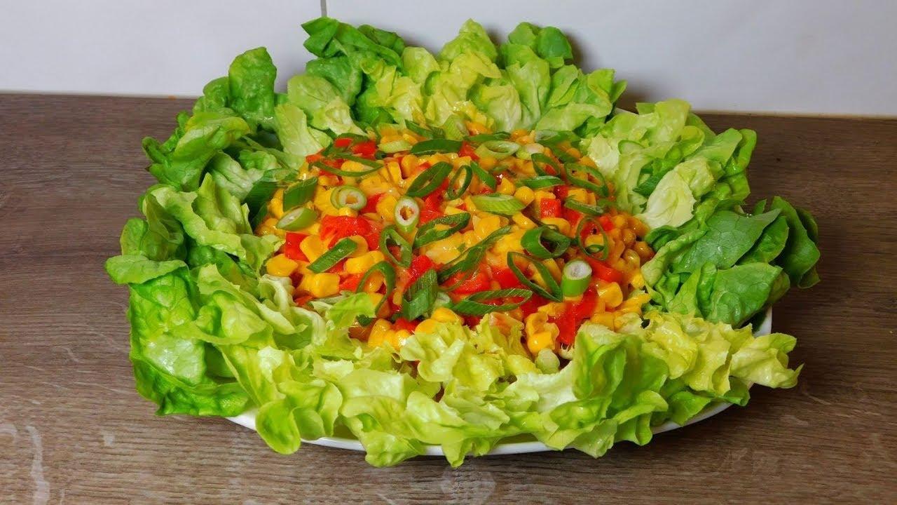 Рецепты тёплых салатов простые и вкусные