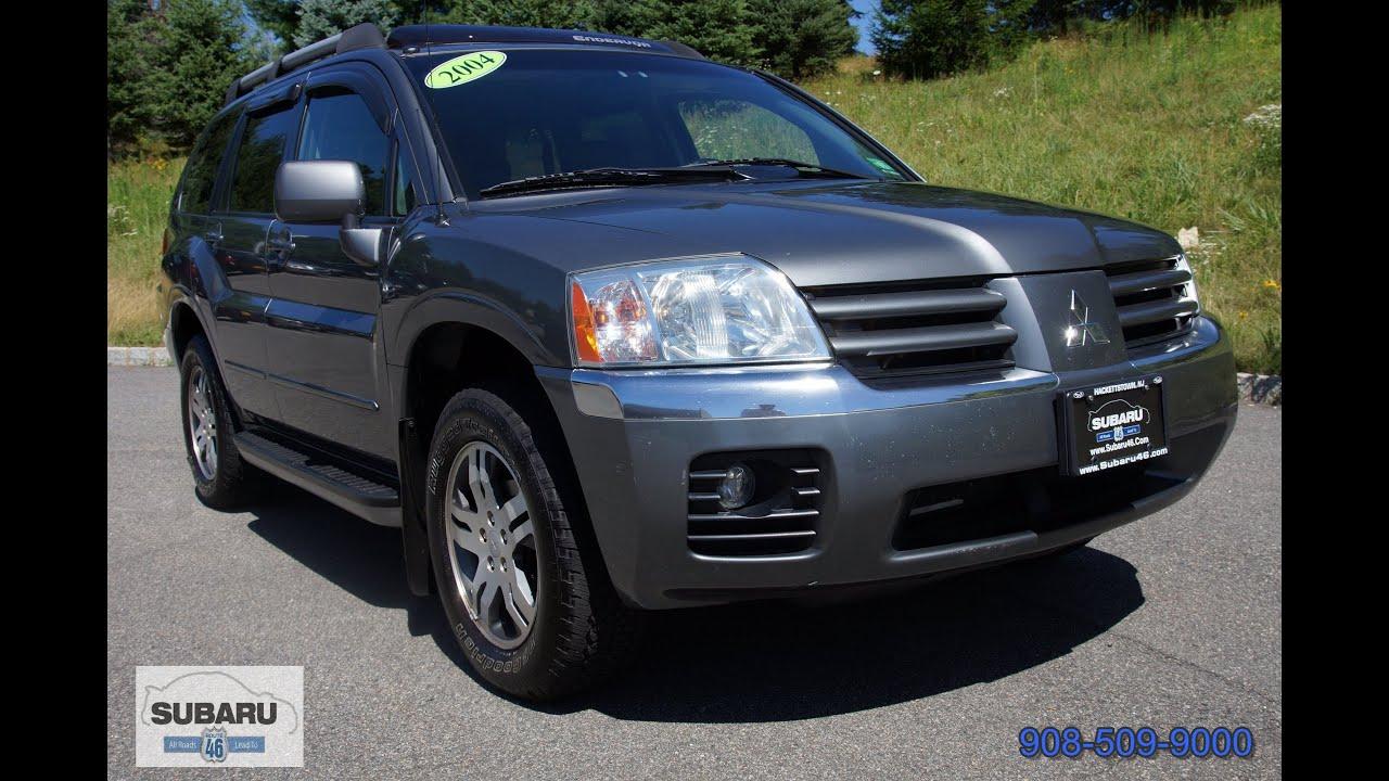2004 Mitsubishi Endeavor XLS 4WD - YouTube