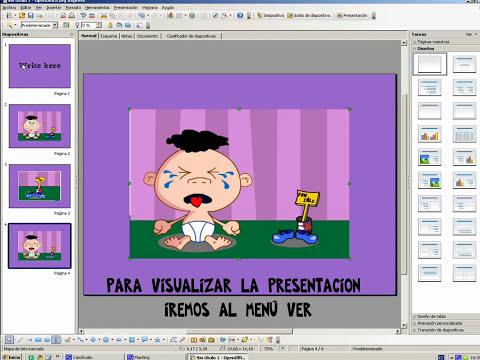 Presentaciones con diapositivas con OpenOffice Impress