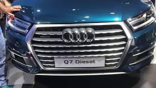 2019 NOVO Audi Q7 3.0L TDI Diesel 258cv |  Sao Paulo Motor Show