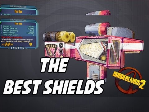 "Borderlands 2 - The Different "" The Bee "" Shields - YouTube Borderlands 2 The Bee"