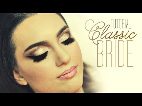Video de Maquiagem - Tutorial Make Classic Bride