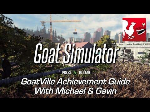 Goat Simulator - GoatVille Achievement Guide