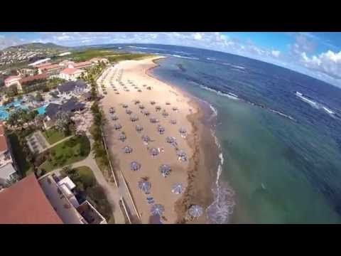 St.Kitts Water Sports Powered Paragliding Tandem with Katy