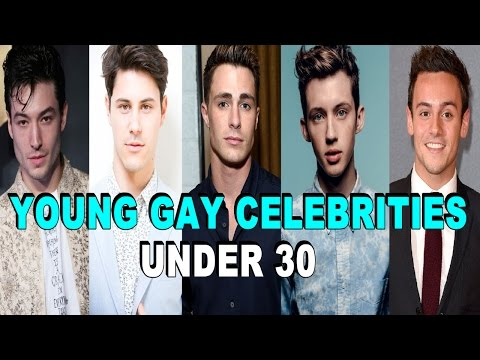 Top 20 Openly Young Gay/Bi Male Celebrities Under 30