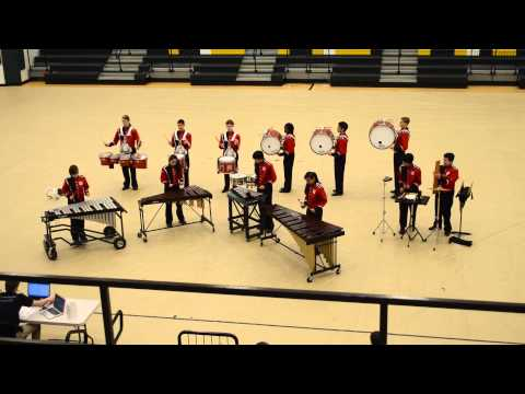 Annandale High School Indoor Drum Line (2014)