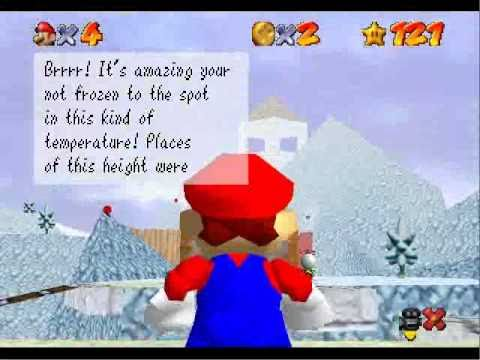 SM64 Star Road - Melting Snow Peaks (Major Hack P6)