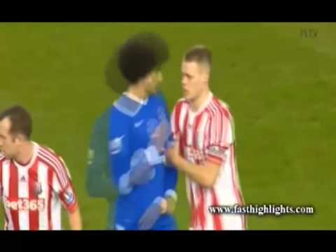 Marouane Fellaini Headbutt!