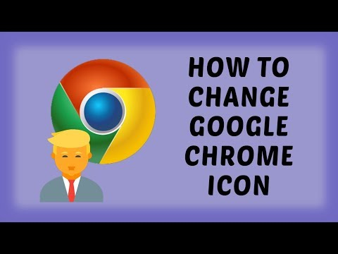 How To Change Google Chrome Icon | Chrome Tutorials In Hindi