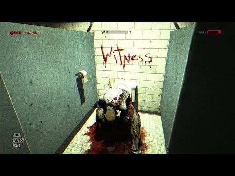 Outlast (PS4) - My First Impression, Will you be scared? 1080p Full HD