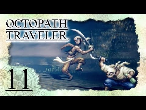 🔴 OCTOPATH TRAVELER 🗺️ #11: Händlerin Tressa gegen das Piratenduo Makk & Mikk
