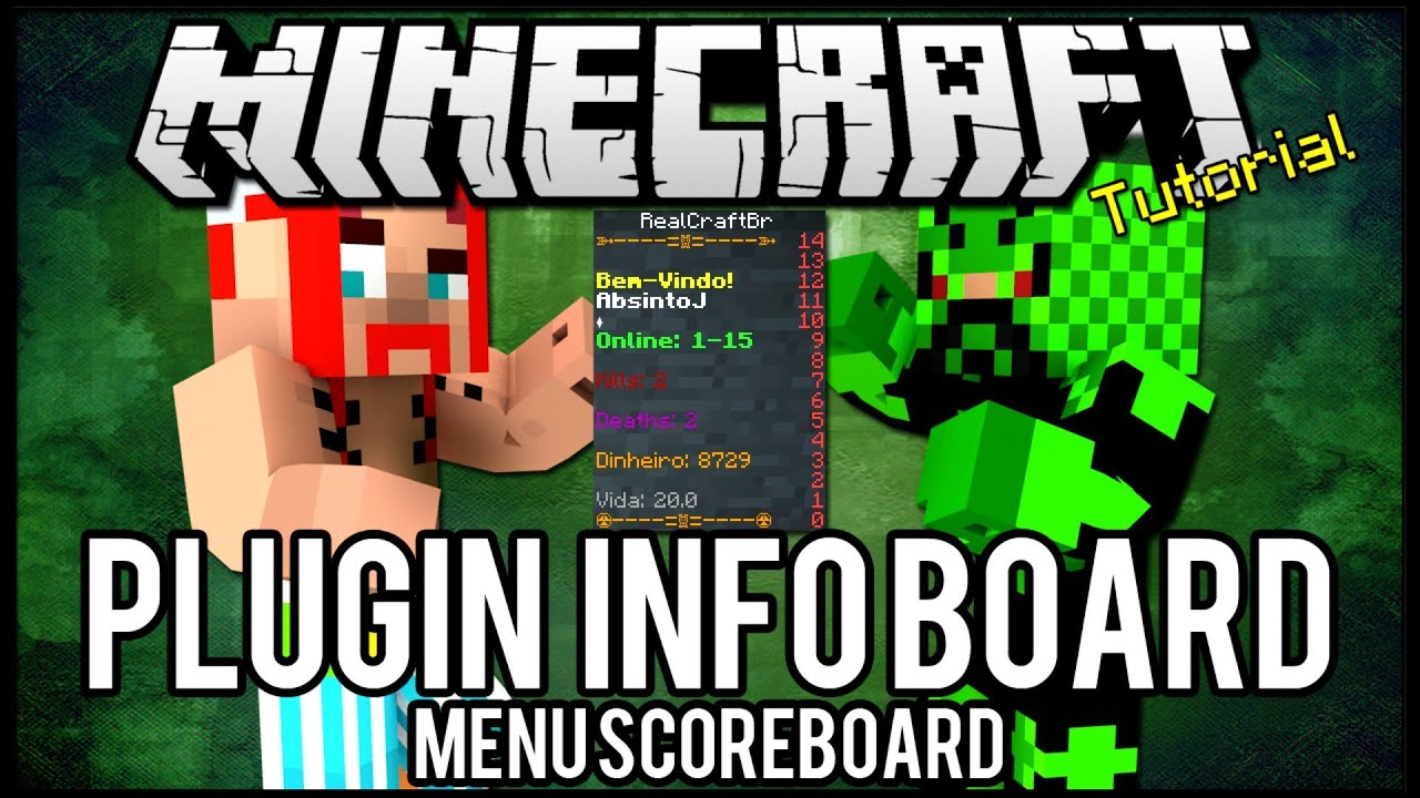 minecraft how to make a scroebaoard for kills