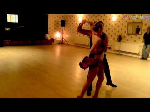 Bruno & Karina perform salsa dancing show @ Willington Sports Social Club with Salsa Fun Therapy