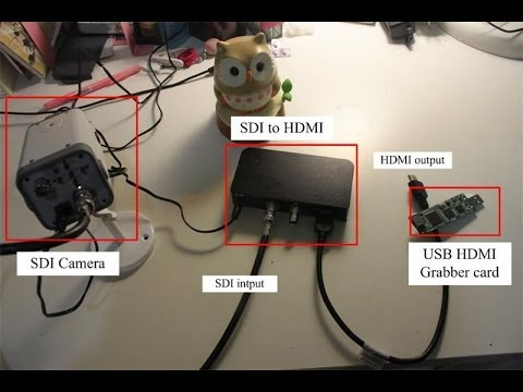 Hd sdi camera connect usb hdmi capture card display on - How to add an extra hdmi port to a tv ...