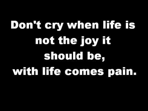 Cece Winans - Don't Cry (lyrics) video