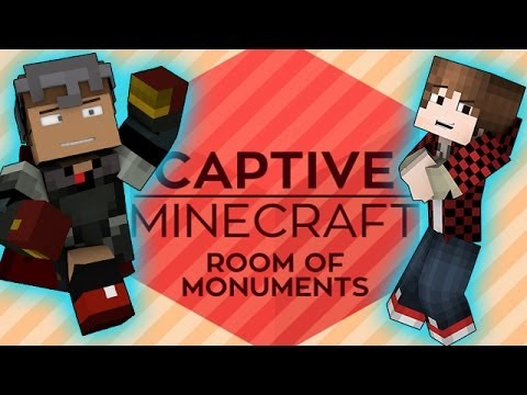 Minecraft: Captive Modded Mini-Series! w/Mitch & Tyler! Ep. 1 - ROOM OF MONUMENTS
